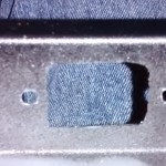 IEC socket hole