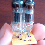 Finished 6247 dual-triode
